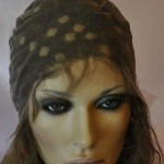 Full Lace Cap with Stretch Lace in the Crown