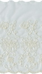 7 1/4'' - Ivory Netting Lace7 1/4'' - Ivory Netting Lace