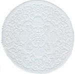 White Doily - 4 sizesWhite Doily - 4 sizes
