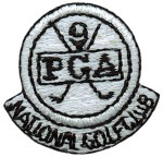 1'' - 2.5 cm - PGA Iron On Patch Applique - 3 Colors1'' - 2.5 cm - PGA Iron On Patch Applique - 3 Colors