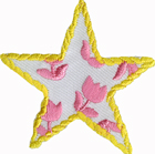 2'' - 5.1 cm - Star Iron On Applique2'' - 5.1 cm - Star Iron On Applique