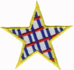 2 1/8'' - Iron On Star Applique2 1/8'' - Iron On Star Applique