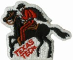 2 1/2'' by 2'' Texas Tech Iron On Applique2 1/2'' by 2'' Texas Tech Iron On Applique
