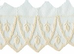 2 3/8'' - 6cm - Netting Lace - Cream, White2 3/8'' - 6cm - Netting Lace - Cream, White