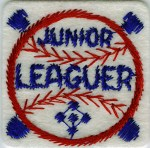 2'' - 5.1cm - Junior League Patch Applique2'' - 5.1cm - Junior League Patch Applique