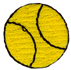 15/16'' Yellow Ball Applique15/16'' Yellow Ball Applique
