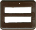 2'' by 1 5/8'' Brown Slide2'' by 1 5/8'' Brown Slide