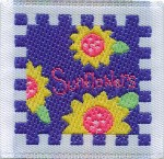 1 5/16'' by 1 1/4'' Sunflowers Patch1 5/16'' by 1 1/4'' Sunflowers Patch