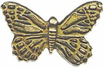 7/8'' by 1/2'' Metal Shank Butterfly Button7/8'' by 1/2'' Metal Shank Butterfly Button