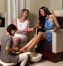 Spa Party Foot Massages