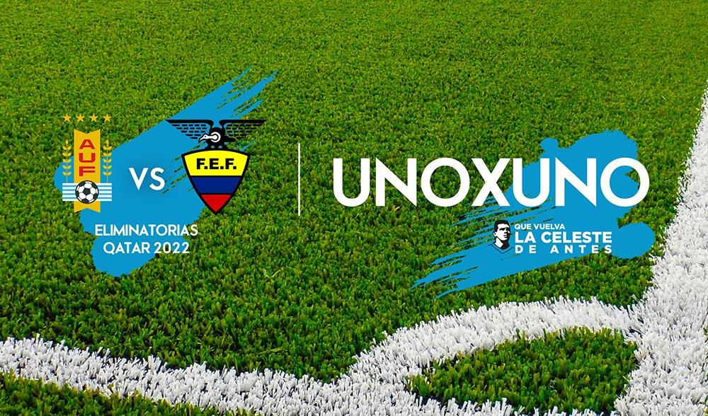 1×1 Ecuador Vs. Uruguay