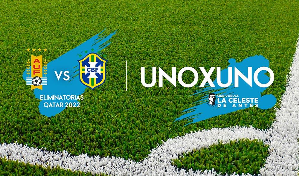 1×1 Uruguay vs Brasil