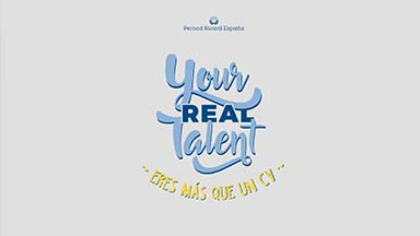 """Pernord Ricard. """"Your Real Talent"""""""