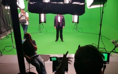 Dirección de fotografía en plató Croma.