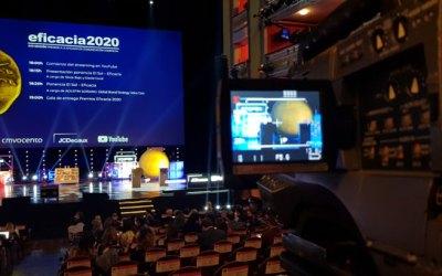 Operamos dos cámaras en los Premios Eficacia.