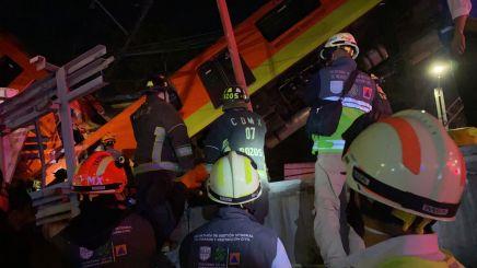 Accidente metro cdmx linea 12