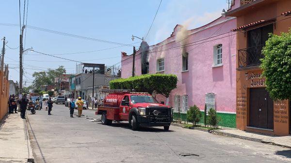 Se reportó un incendió en casa de Juanita Guerra, candidata por Morena a una diputación federal