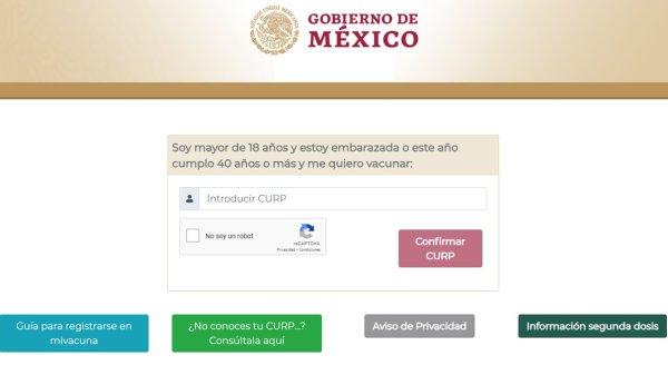 Invitan a los adultos de Morelos entre 40 y 49 años a realizar su registro de vacunación en línea