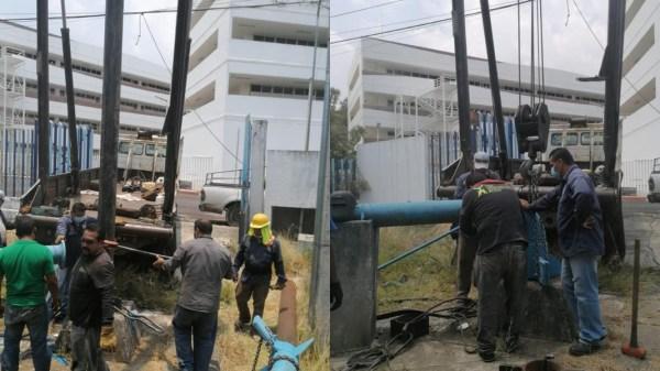 SAPAC recupera producción de 28 litros de agua por segundo en pozo Chamilpa 4