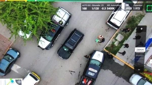 Policía de Jojutla y C2 con el uso de drones pudieron ubicar a la menor de 14 años que había sido secuestrada en un taxi