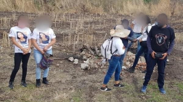 Comisión de Búsqueda de personas encuentran restos humanos en Ayala