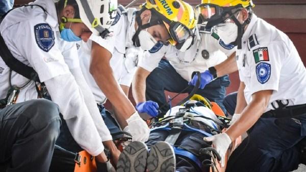 ¡No se dejó robar! Hombre recibe un disparo al forcejear con asaltante en la Avenida Calzada de Los Gallos en Jiutepec
