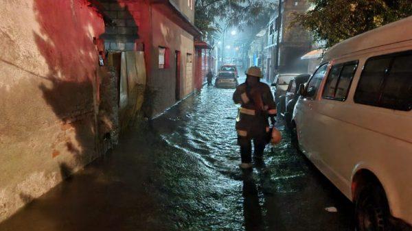 Resultan afectados 78 domicilios en Cuautla por la subida del nivel del agua