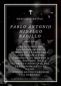 Joven asesinado en Oxxo, ubicado en el fraccionamiento Burgos de Temixco
