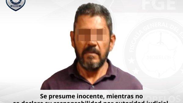 24 años después es detenido por asesinato cometido en Temixco. Fue capturado en el estado de Colima