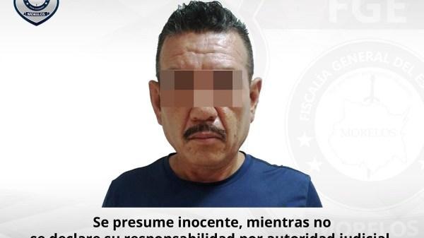 Detenido elemento de la Policía Morelos por dispararles a agentes de la Fiscalía cuando intentaban aprehenderlo por cometer delitos sexuales