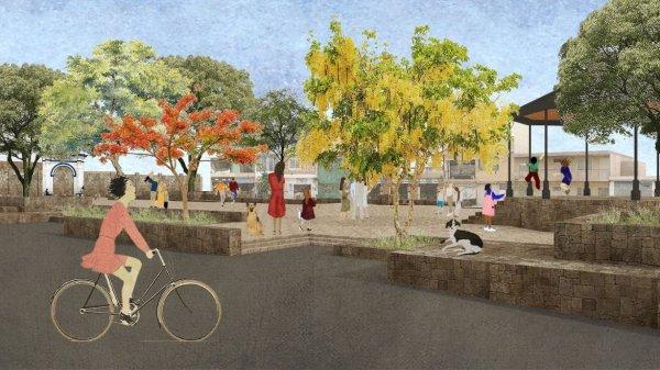 Iniciarán renovación integral del zócalo de Tejalpa en Jiutepec