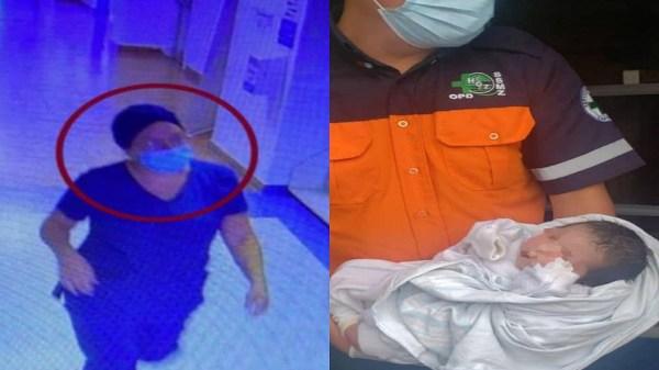 Mujer disfrazada de enfermera roba a bebé recién nacida en hospital de Jalisco. La niña apareció abandonada dentro de una bolsa ecológica