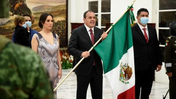 ¡Viva México! Así celebró el Grito de la Independencia el gobernador de Morelos, Cuauhtémoc Blanco