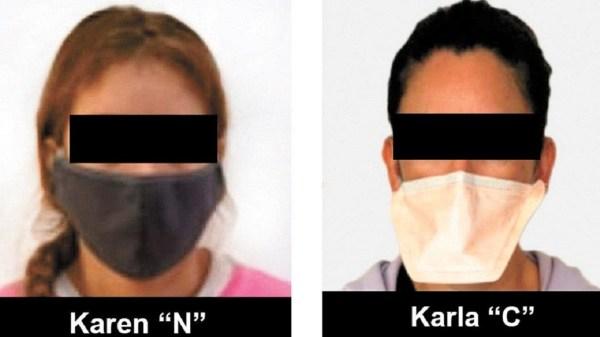 """Dos mujeres detenidas en cateos realizados por la FGR en Cuernavaca y Temixco, serían colaboradoras del narcotraficante """"El Seven"""""""