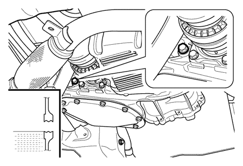 Проверки в моторном отсеке Шевроле Лачетти Chevrole