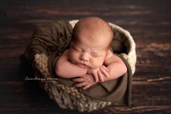 Wood Floor Newborn Photography Backdrop