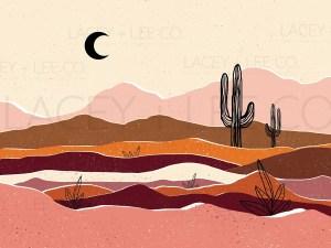 Boho desert
