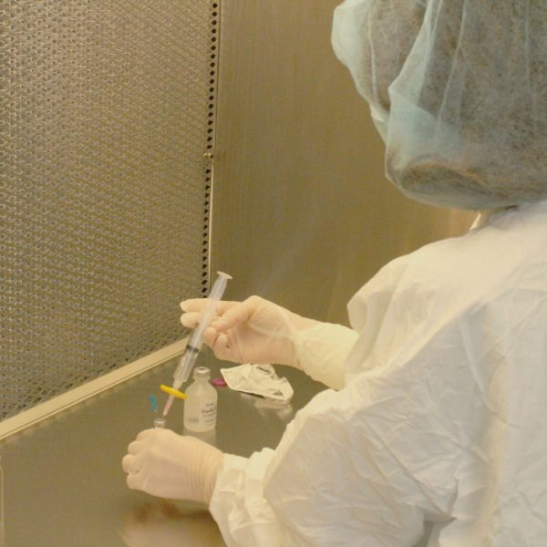 Kimberly Malak is one of our Certified pharmacy technicians. Here she is in our PCAB Accredited Compounding Lab in Marietta, Ga.