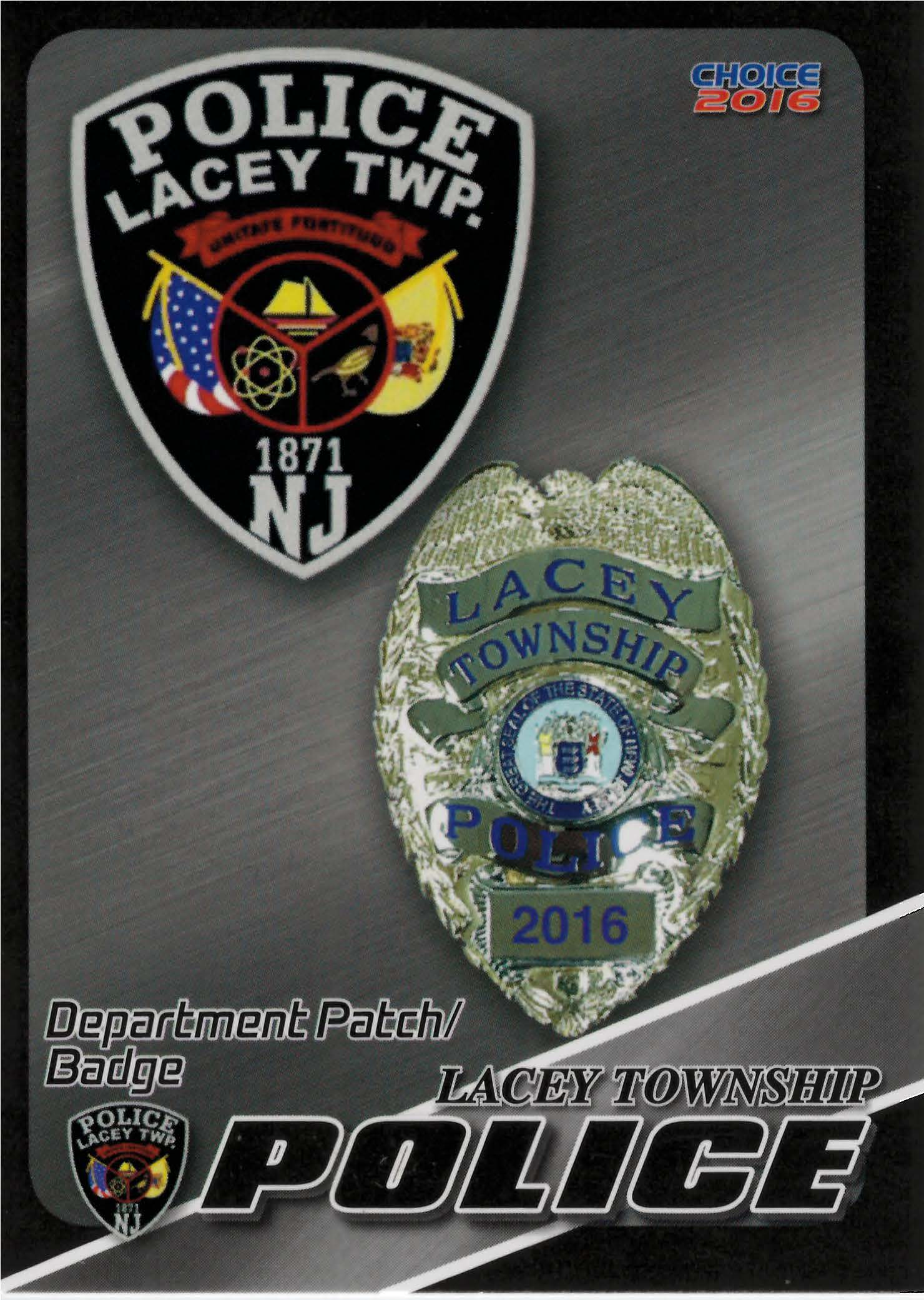 Week 4 Cop Collectible Card Program Lacey Township