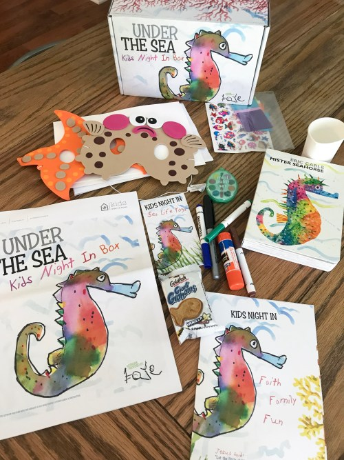 Under the Sea // Kids Night in Box Review