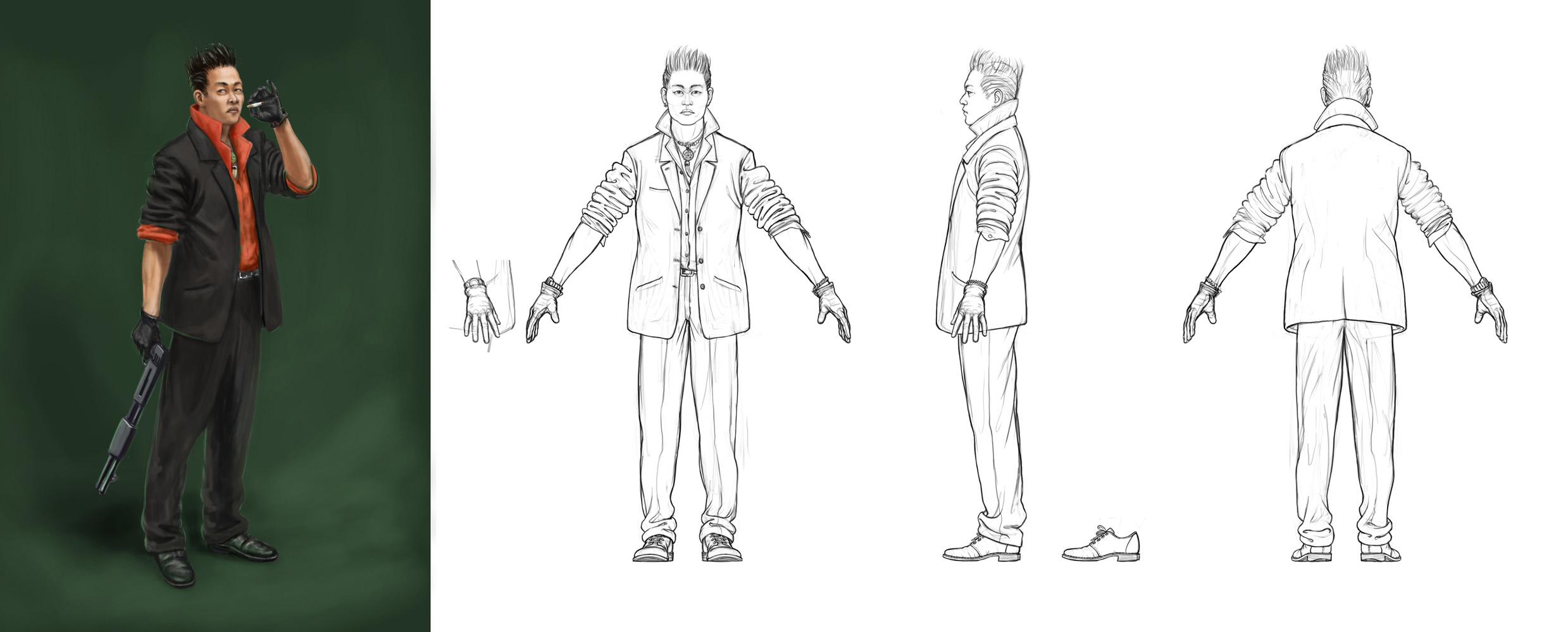 Lachlan Creagh Concept Design Orthographics