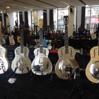 Interview luthier Mike Lewis de Fine Resophonic à Guitares au Beffroi 2015