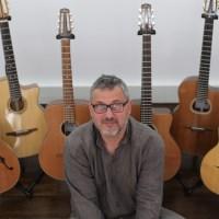 Jérôme Marchand : luthier guitares Jazz et Manouche
