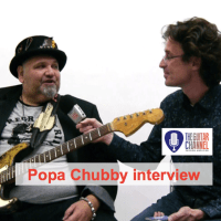 Interview du Big, Bad an Beautiful Popa Chubby (@PopaChubb) guitare à la main ! (VOST)