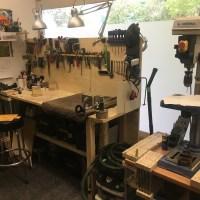 Chronique Lutherie - Luthier Jérôme Vander Maren (JV Guitars) - Visite atelier 1/4
