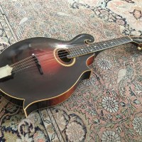 Mandole Gibson H-4 (1918) - Chronique magazine Vintage Guitare