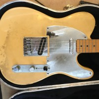 Telecaster Jeff Buckley - Guitares d'Exception Matthieu Lucas