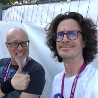 Interview Christophe Godin - Sur ses terres lors de Guitare en Scène 2018