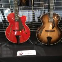 Interview luthier Franck Cheval - Présentation de guitares archtop à Issoudun