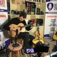Interview Samuel Strouk - Guitare à la Main au showroom